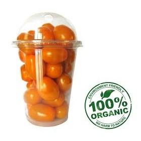 Org. Long Cherry Tomato 250 gm