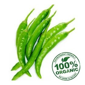 Organic Green Chilly 250 gm